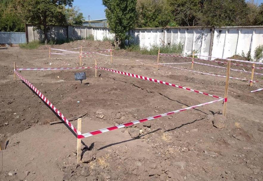 Пошукові роботи на місці масових захоронень жертв НКВС біля Одеси
