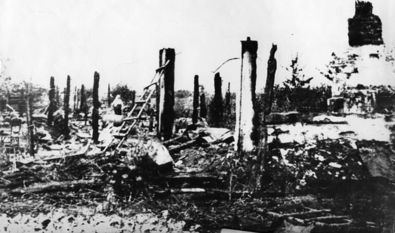 Пам'яті Корюківської трагедії - найбільшої каральної операції нацистів у Європі (березень 1943 року)