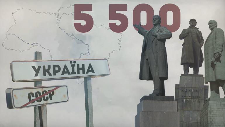 Декомунізація: вільний від пропаганди простір України (ВІДЕО)