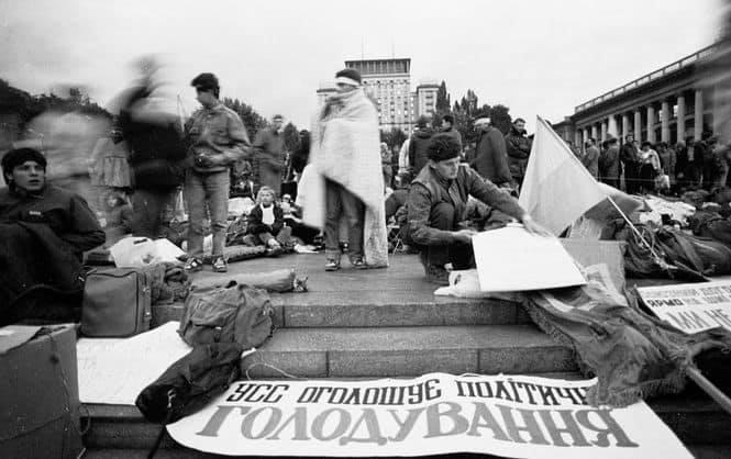 Як починалася студентська «Революція на граніті»?