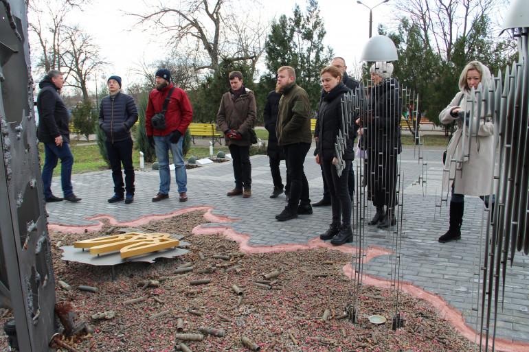 Співробітники Інституту відвідали декомунізоване селище Доброслав на Одещині