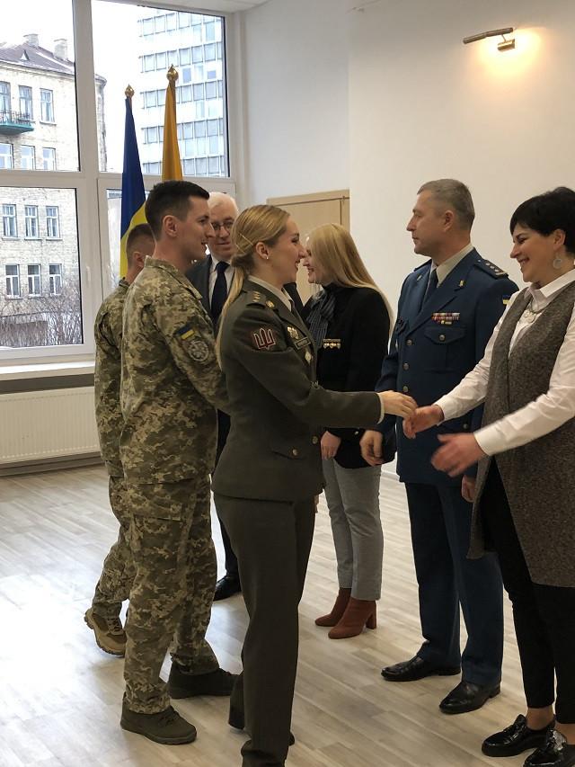 У Вільнюсі відзначили День Збройних Сил України