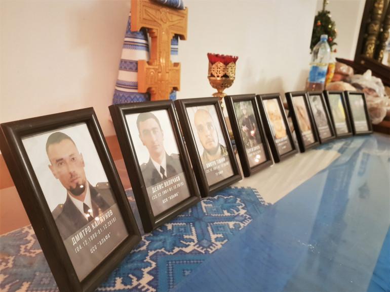 У Києві відбулася панахида за всіма загиблими у 2019 році воїнами
