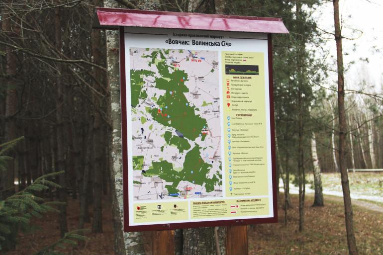 На Волині презентували історико-краєзнавчий туристичний маршрут місцями бойової слави УПА