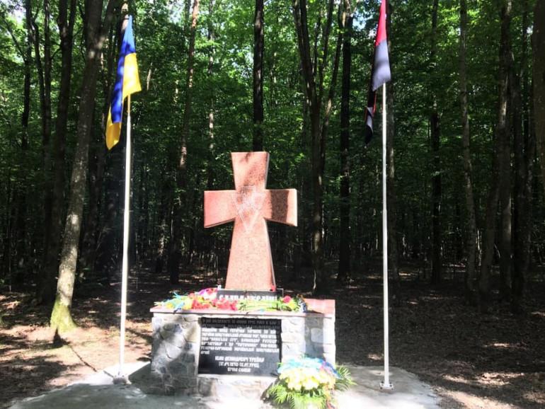 На Поліссі встановили пам'ятний хрест генерал-хорунжому УПА Івану Трейку