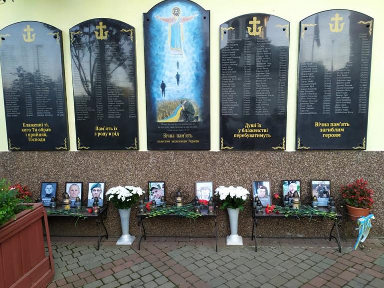 У Вінниці вшанували загиблих героїв російсько-української війни