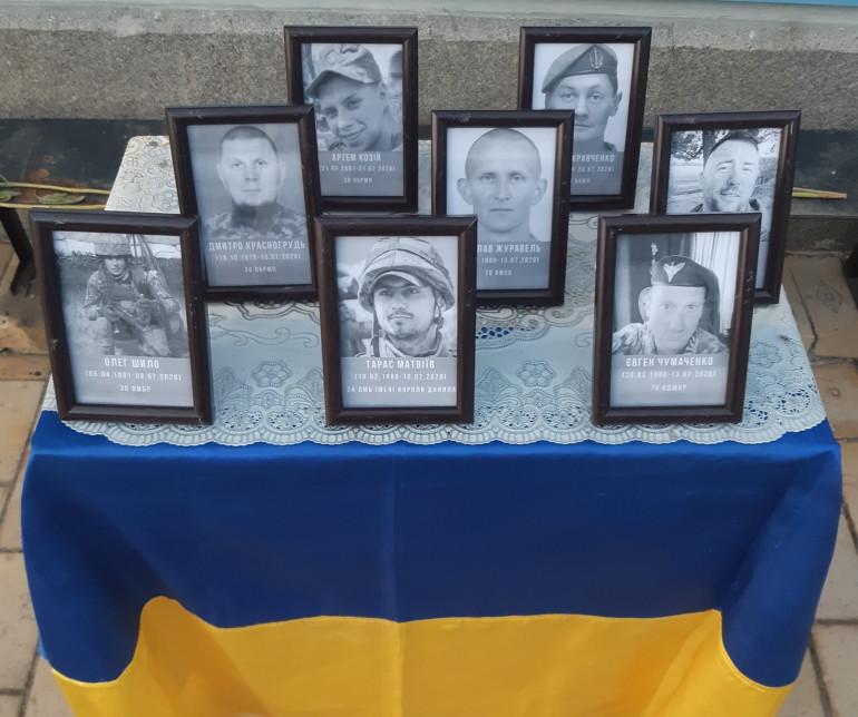 У Михайлівському Золотоверхому монастирі молилися за загиблими українськими героями