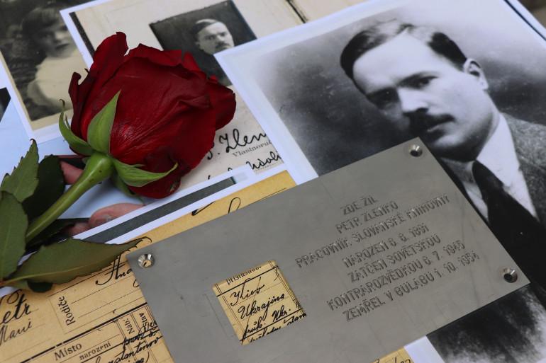 У Празі відкрили пам'ятну дошку українцю Петру Зленку