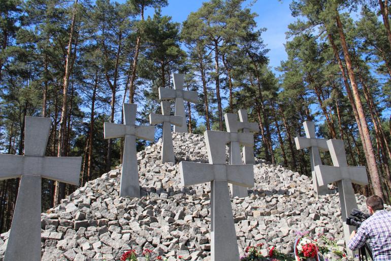 У Биківні вшанували жертв політичних репресій