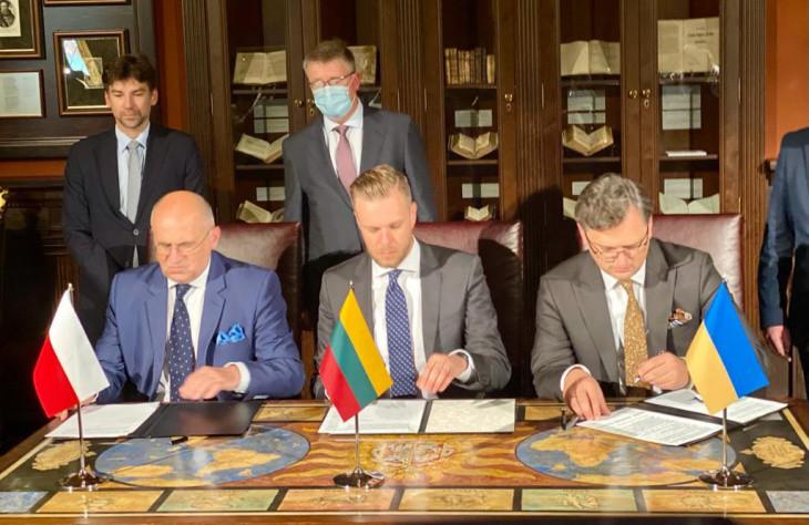Міністри закордонних справ України, Польщі та Литви підписали декларацію про спільну європейську спадщину та спільні цінності