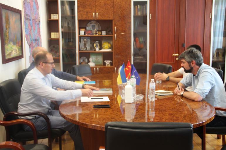 Голова УІНП відвідав з робочим візитом Житомирську область