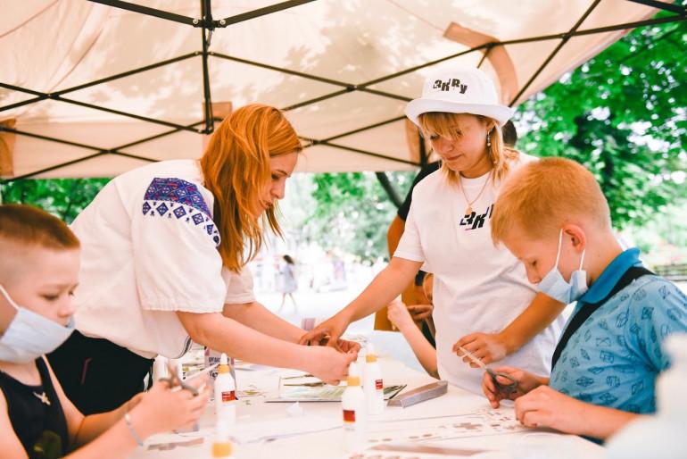 Співробітники УІНП взяли в участь у фестивалях на Черкащині та Донеччині.