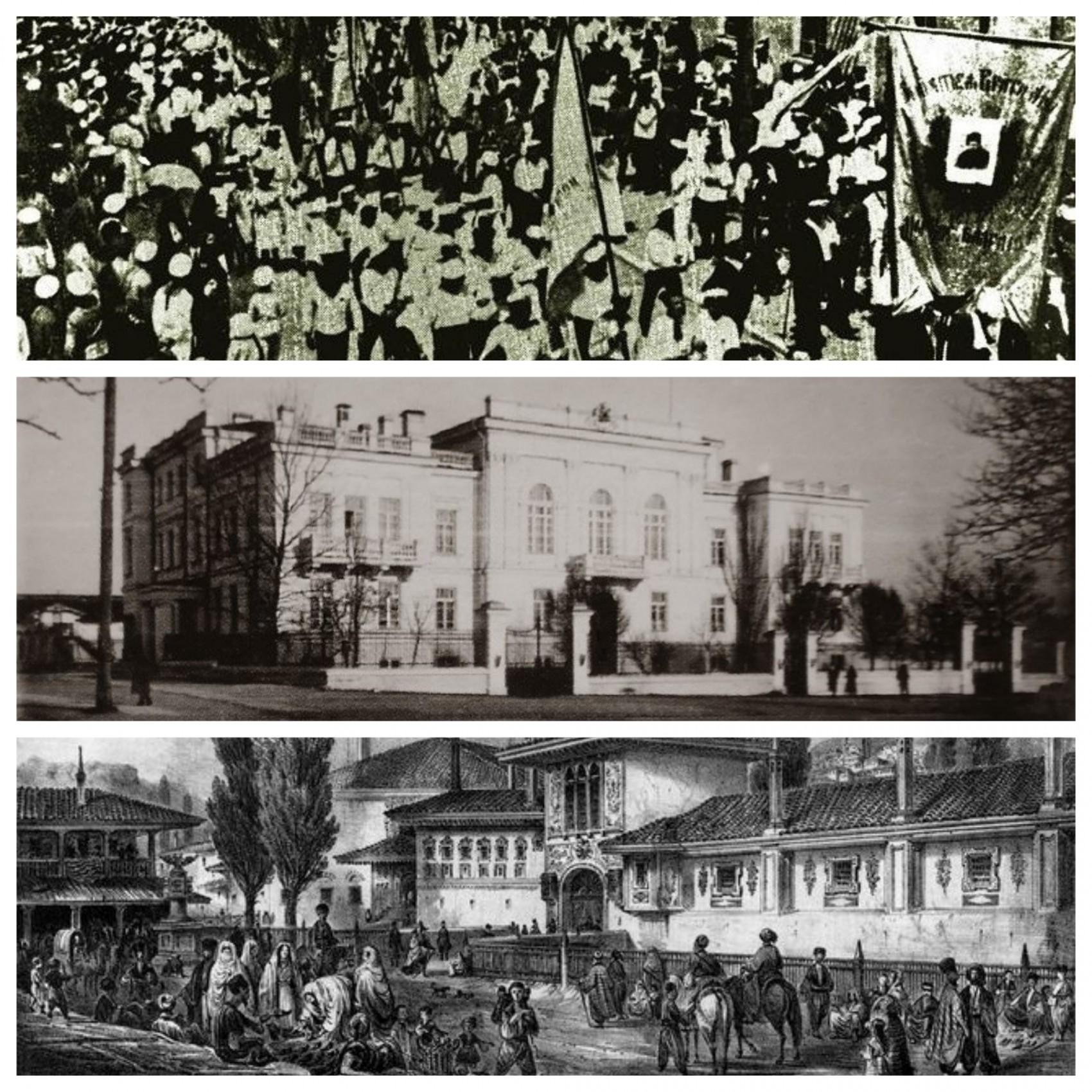 В якому місті у грудні 1917 року відбулося засідання першого Курултаю кримськотатарського народу, який проголосив Кримську народну республіку, ухвалив її Конституцію та сформував національний уряд – Директорію?